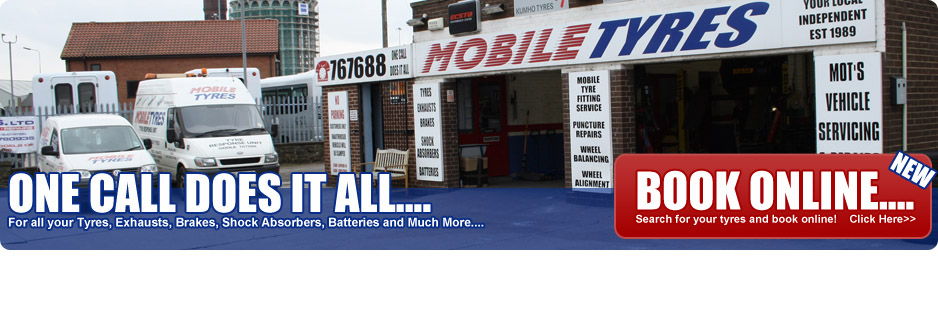 Mobile Tyres - One Call Does It All