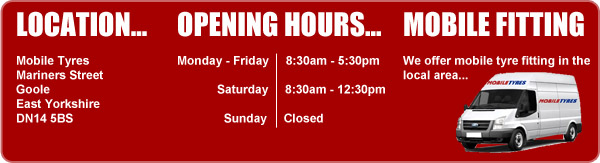 Location - Opening Hours - Mobile Fitting